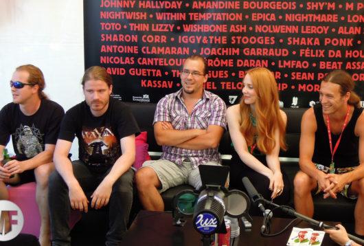 Epica à la Foire aux Vins de Colmar en 2012
