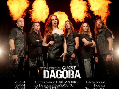 Poster d'Epica en concert en 2014