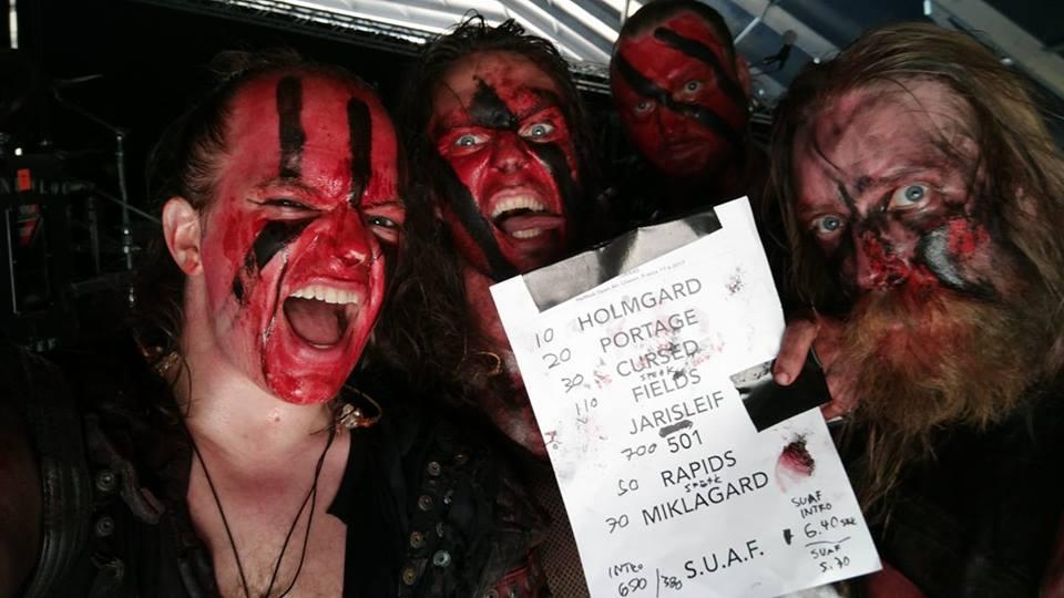Turisas au Hellfest 2017