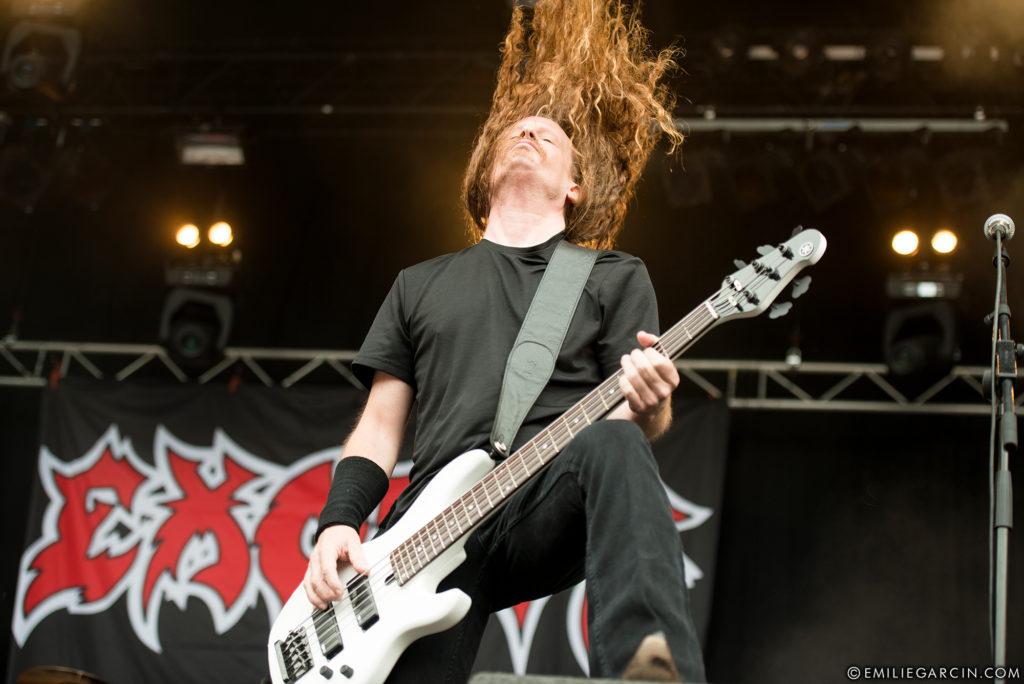 Exodus au Dynamo Metal Fest 2017