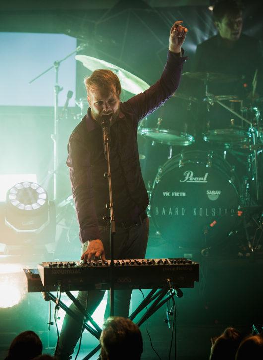 Leprous sur scène en 2017