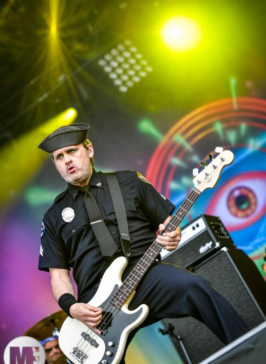 Turbonegro au Download Festival Paris le 16 juin 2018