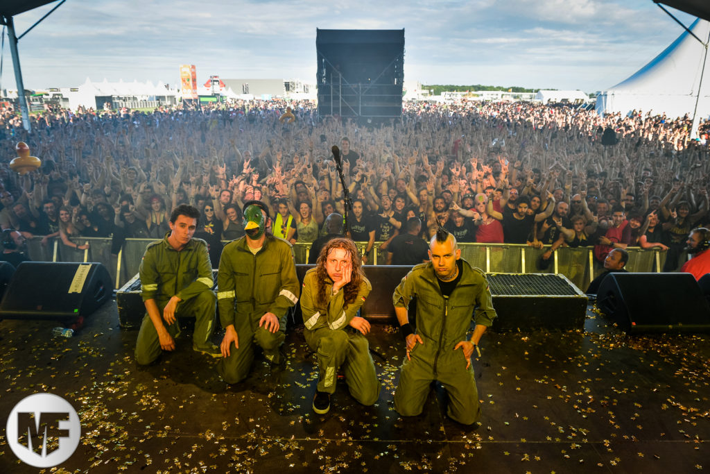 Ultra Vomit au Download Festival Paris le 16 juin 2018