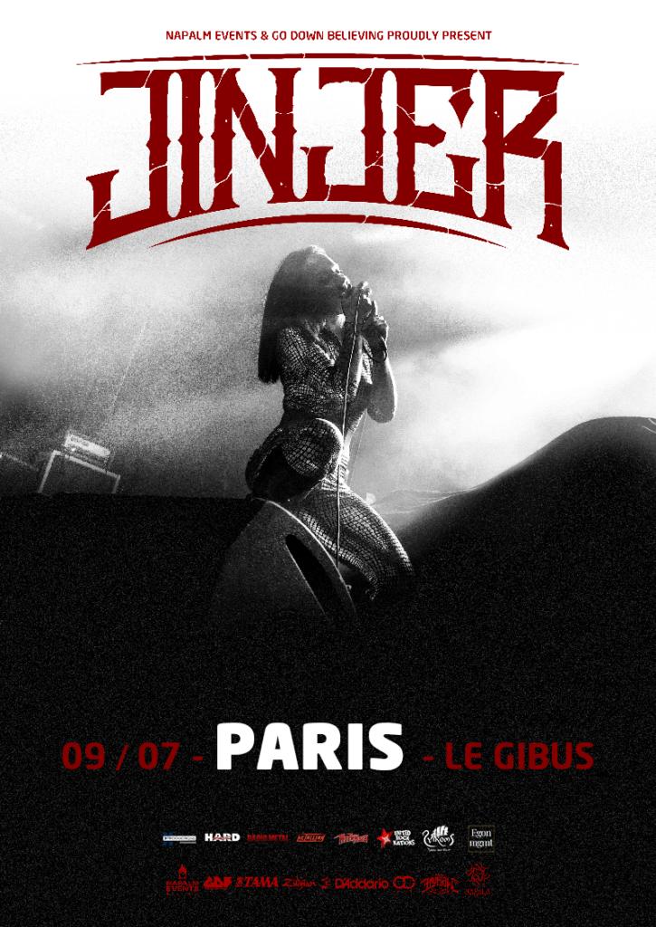 Jinjer + Reach The Shore au Gibus