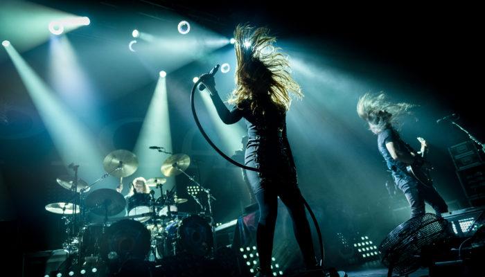 Epica sur scène à Marseille, en 2017