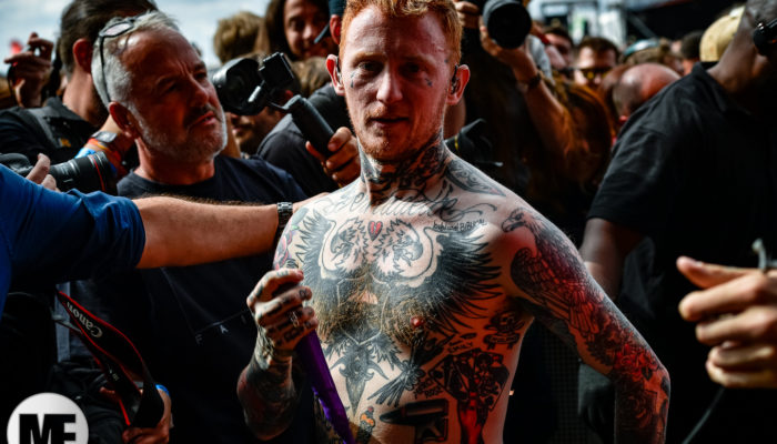 Frank Carter & The Rattlesnakes au Download Festival Paris le 17 juin 2018