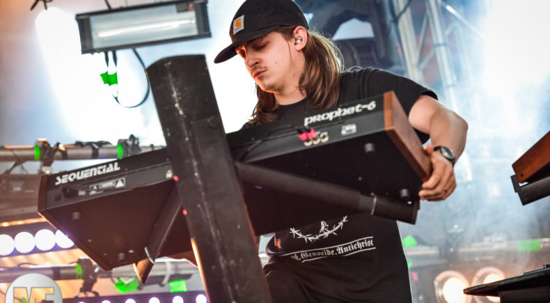 Perturbator au Download Festival Paris le 17 juin 2018