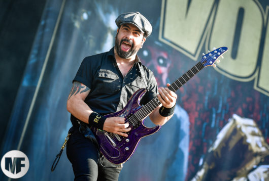 Volbeat au Download Festival Paris le 18 juin 2018