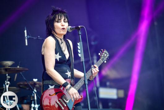 Joan Jett au Hellfest le 22 juin 2018