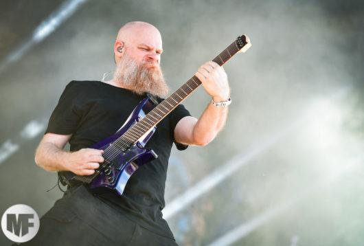 Meshuggah au Hellfest le 22 juin 2018