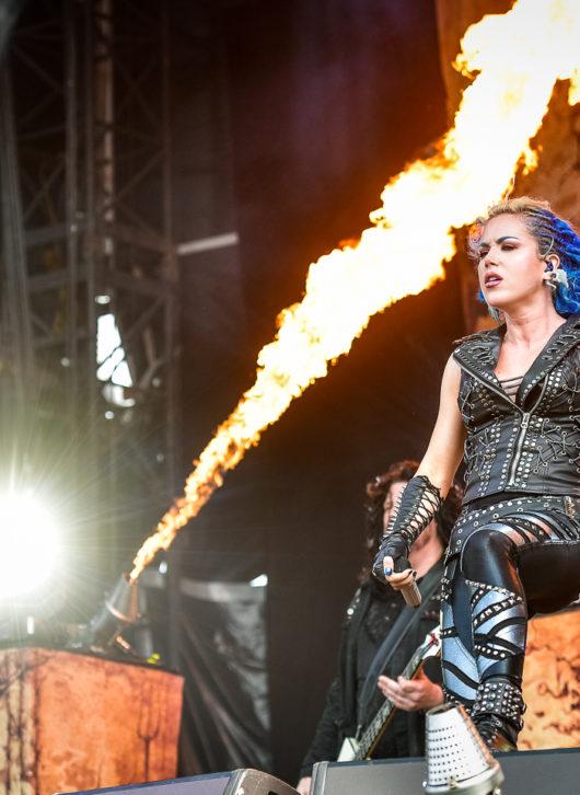 Arch Enemy au Hellfest le 24 juin 2018