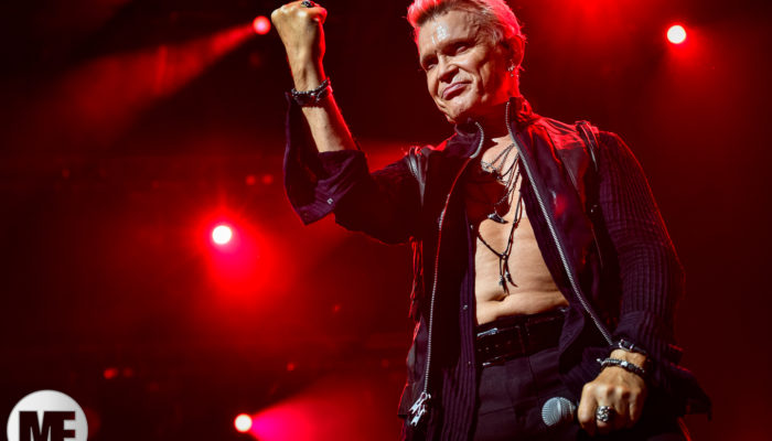 Billy Idol au Montreux Jazz Festival le 05/06/2018