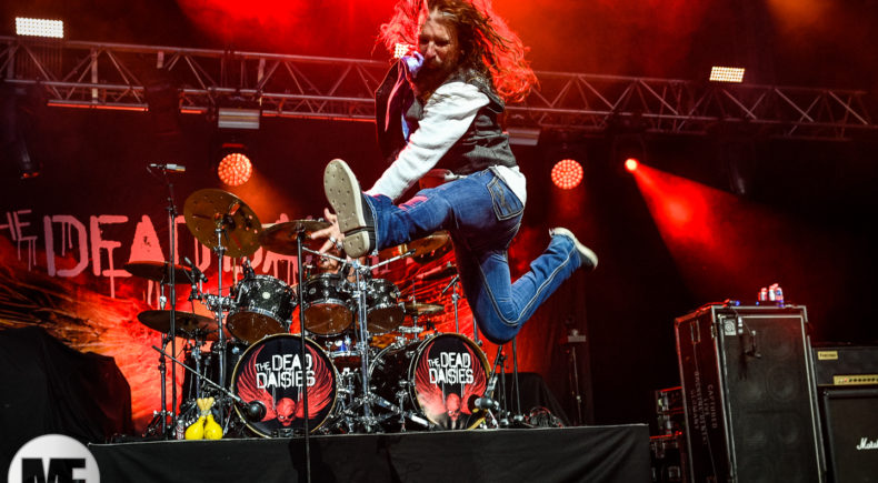 The Dead Daisies à Guitare en Scène 2018