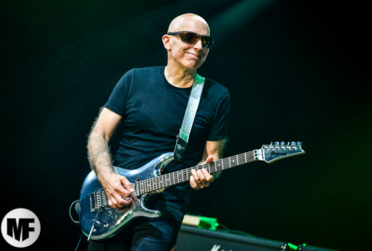 Joe Satriani à Guitare en Scène 2018