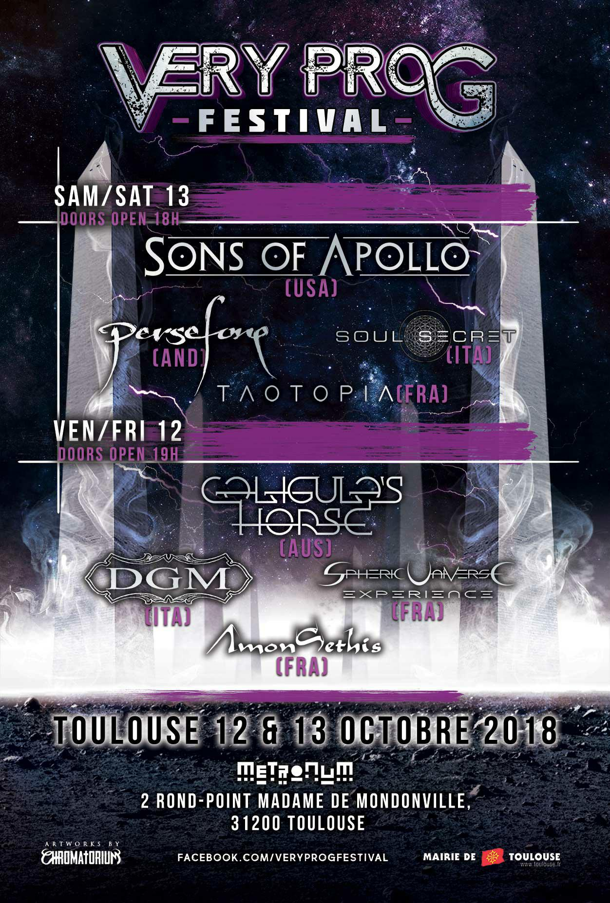 Very Prog Festival Affiche