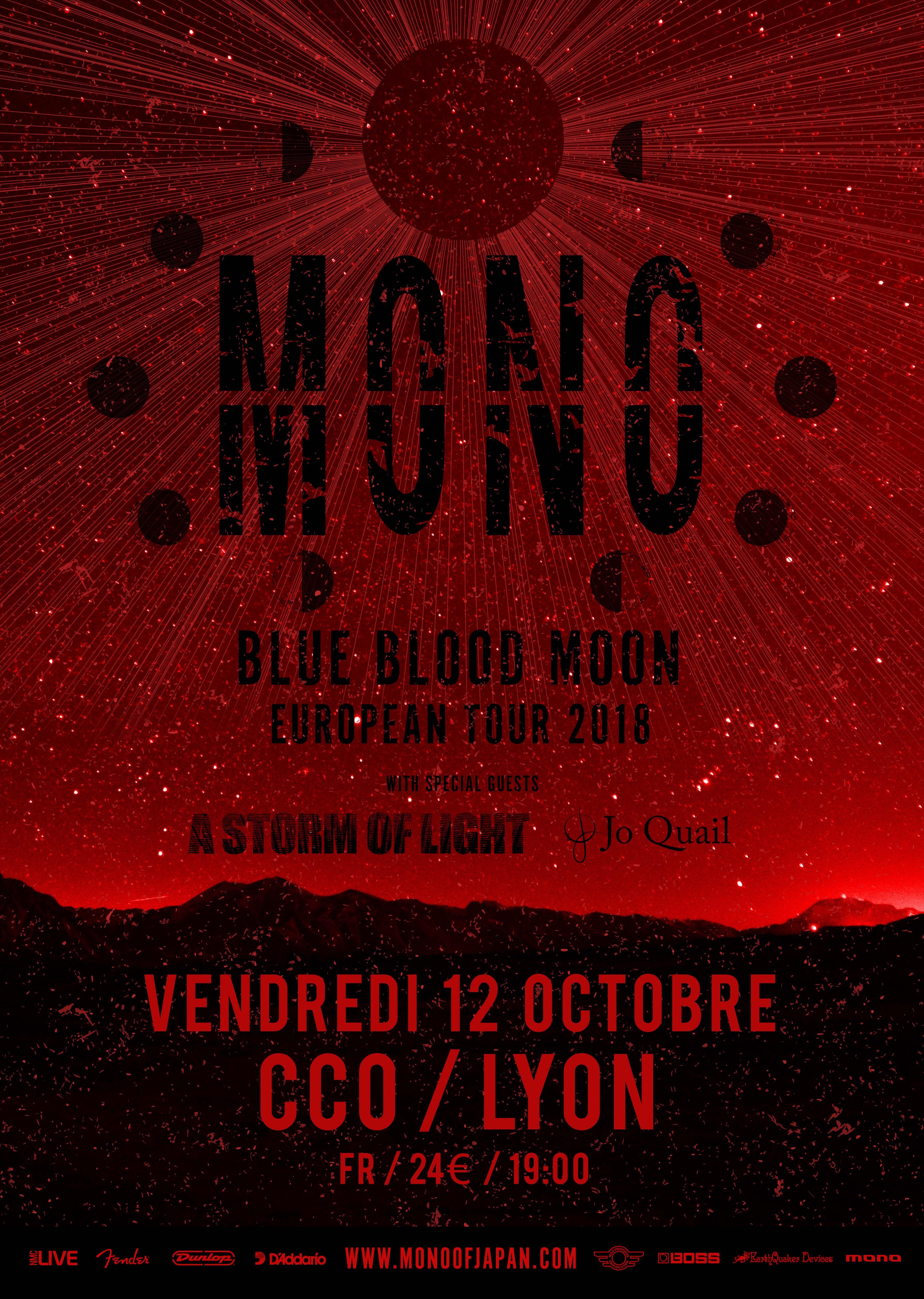 MONO à Lyon 2018