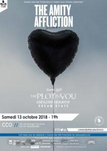 The Amity Affliction à Lyon en 2018