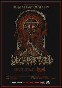 Tour Decapitated 2019