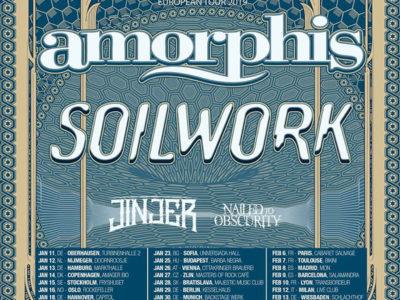 Amorphis soilwork Tour 2019