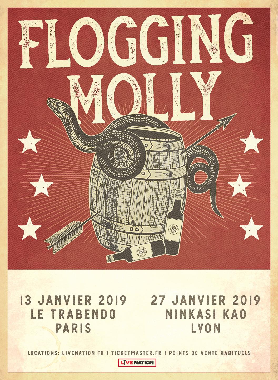 flogging molly tour 2019