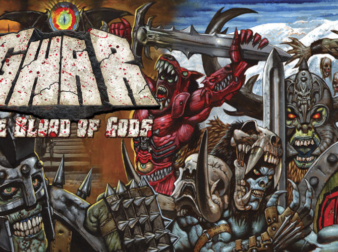 gwar Blood Of God cover