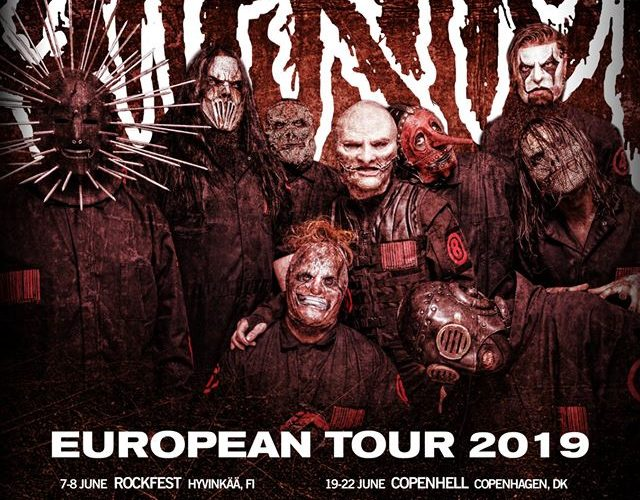 Slipknot TOUR 2019 Poster