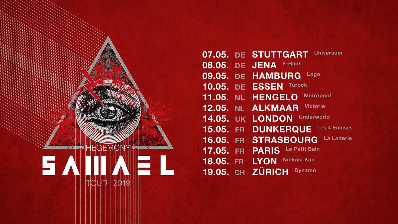 Samael tour 2019