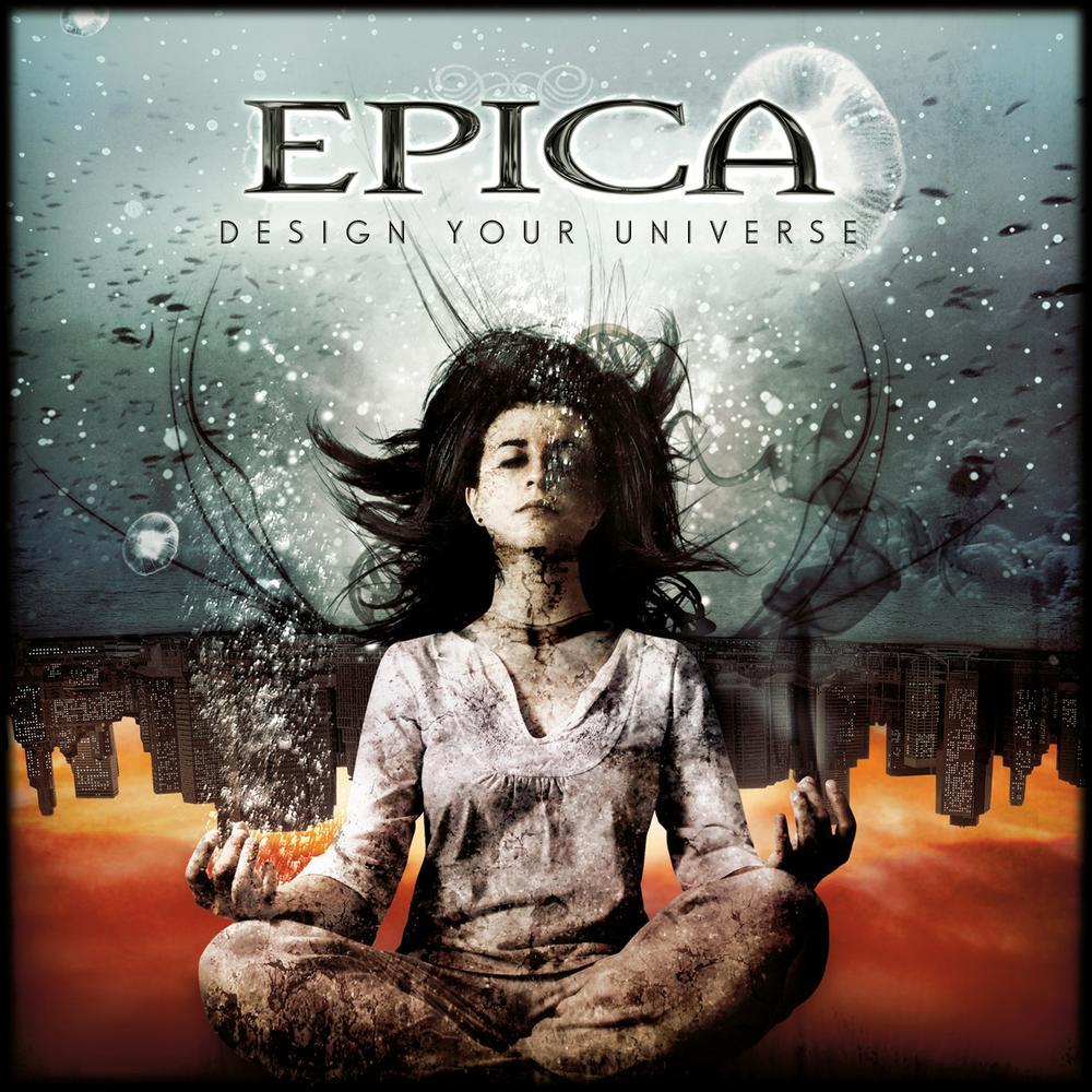 Pochette de design your universe d'Epica