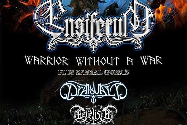 Ensiferum en concert à marseille en 2015 poster