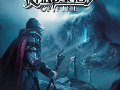 rhapsody of fire pochette de the eighth mountain sortie en 2019