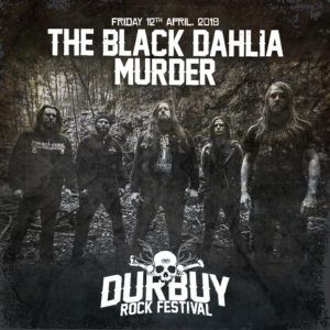 The Black Dahlia Murder Durbuy Rock Festival
