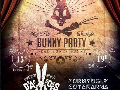 dead bones bunny en concert à paris en 2019