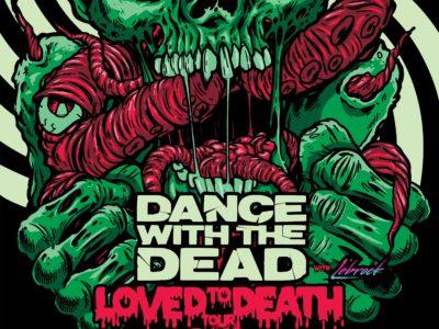 DANCE WITH THE DEAD en concert à lyon en 2019