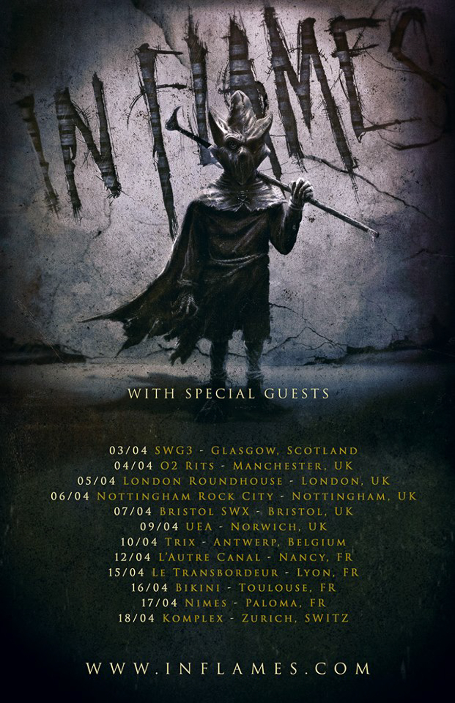 In flames tour 2019
