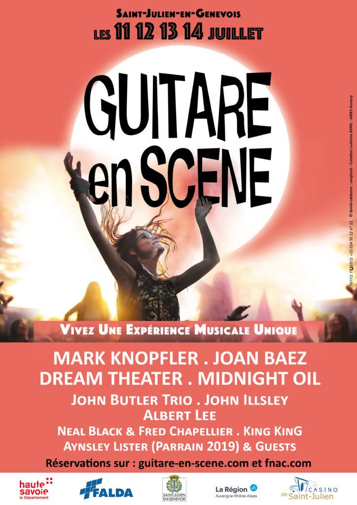 Affiche de Guitare en Scène 2019