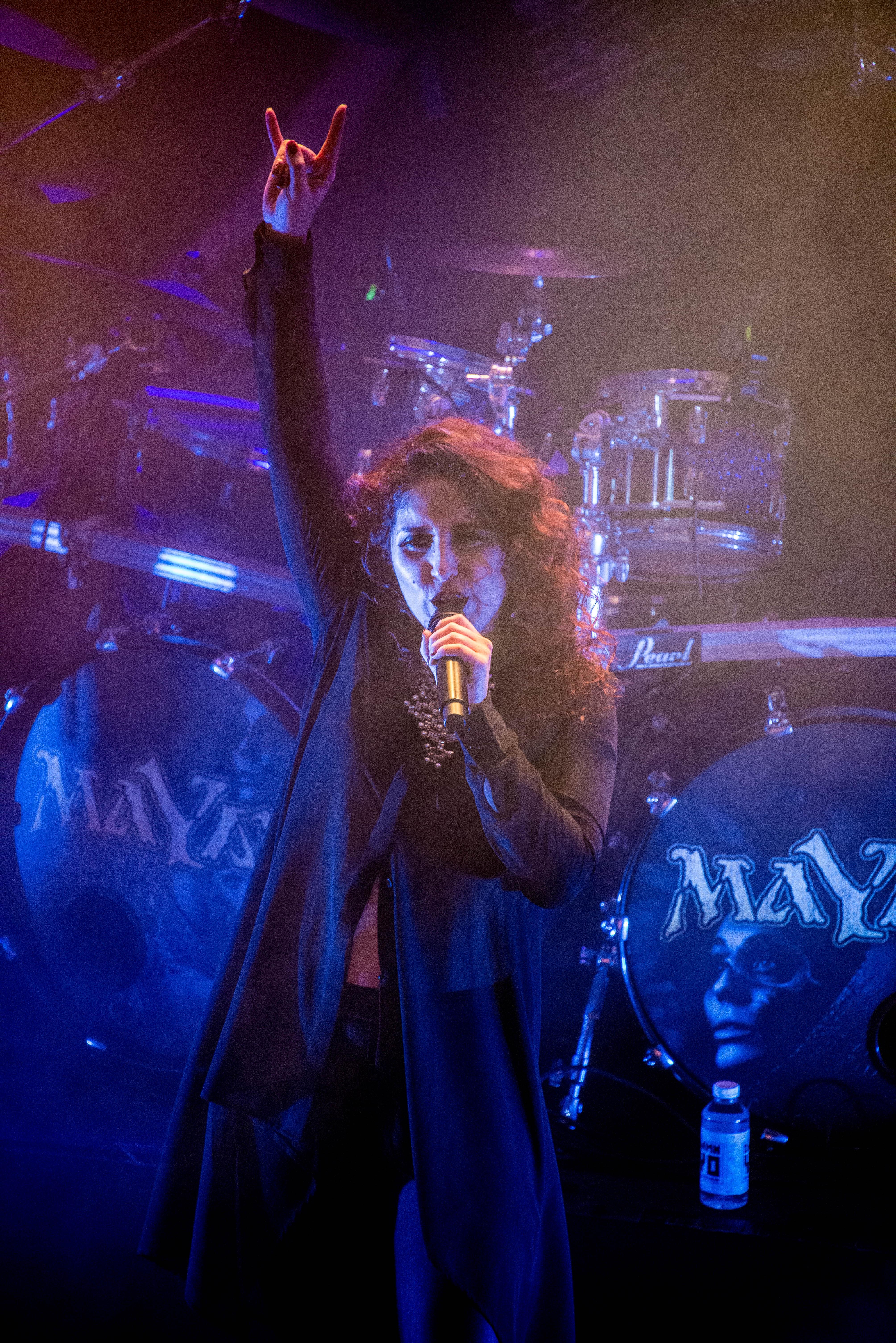 Marcela Bovio de Mayan en concert à Eindhoven en 2019