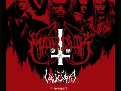 Marduk et VALKYRJA en concert à lyon en avril 2019