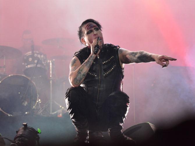 Marilyn Manson à l'Alcatraz Festival de Courtrai (Photo Elodie Beaussart © 2014)