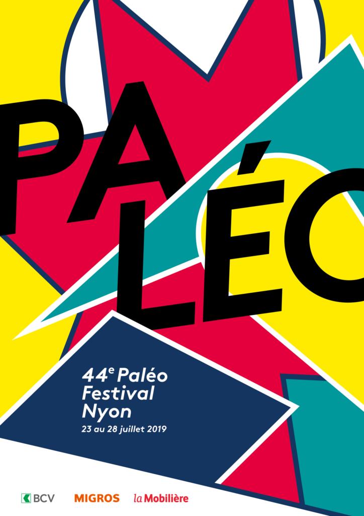 Affiche Paleo Festival à Nyon 2019