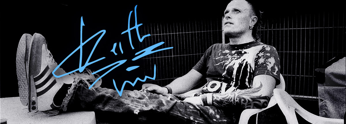 Keith Flint du groupe The Prodigy mort