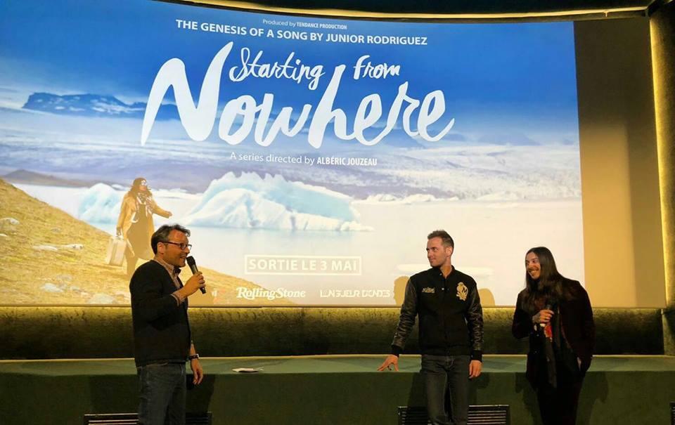 Avant-première de Starting from nowhere avec Junior Rodriguez et Albéric Jouzeau