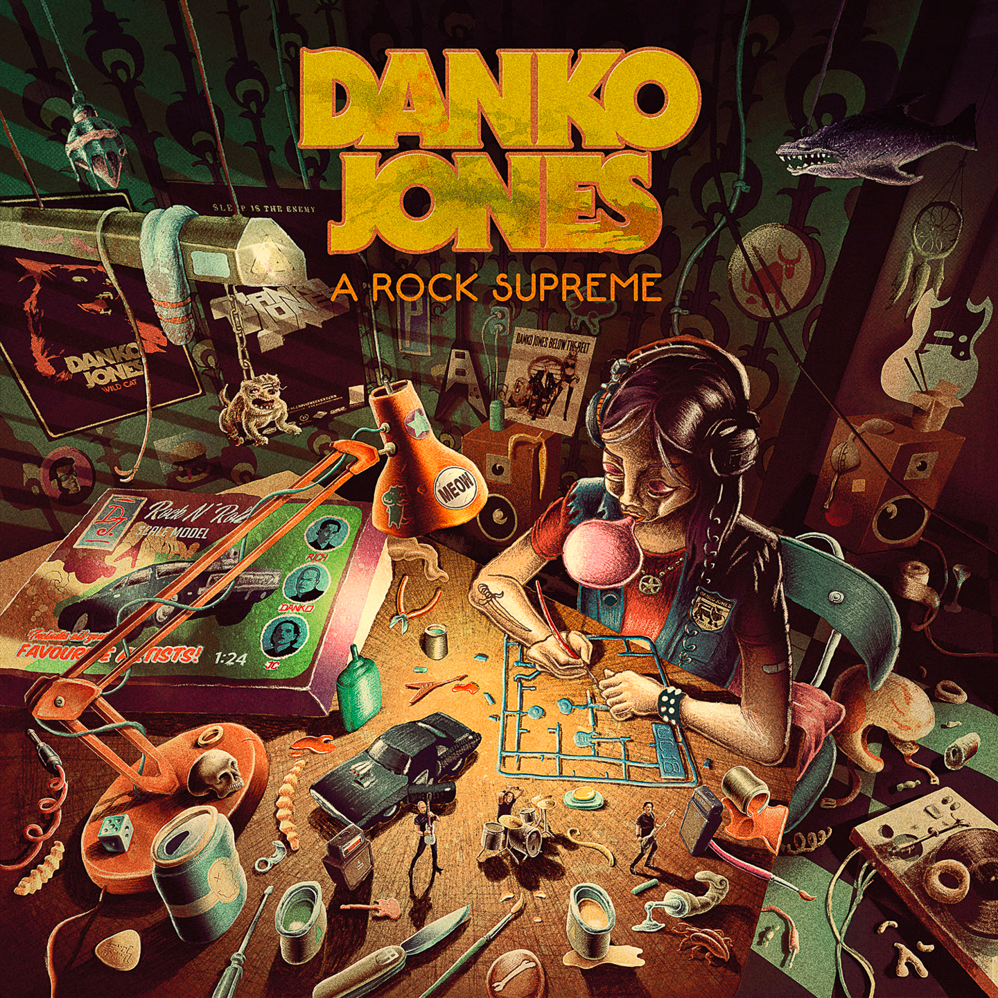 Pochette A Rock Supreme, Danko Jones