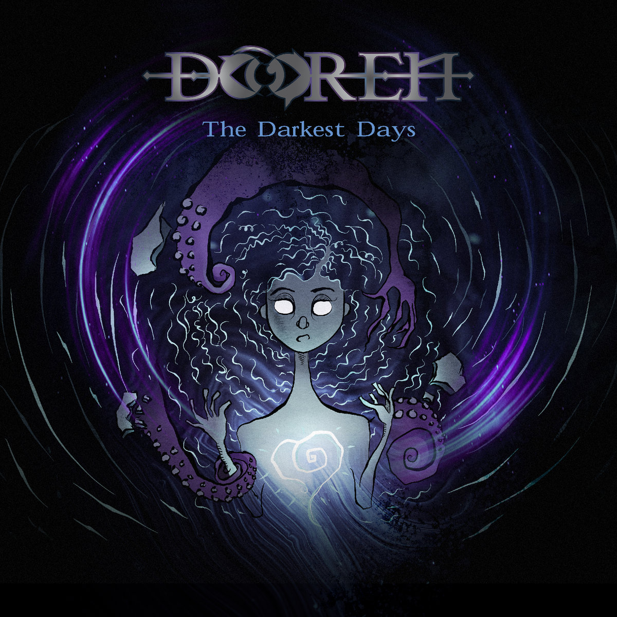 Dooren - The Darkest Days (2019), Artwork