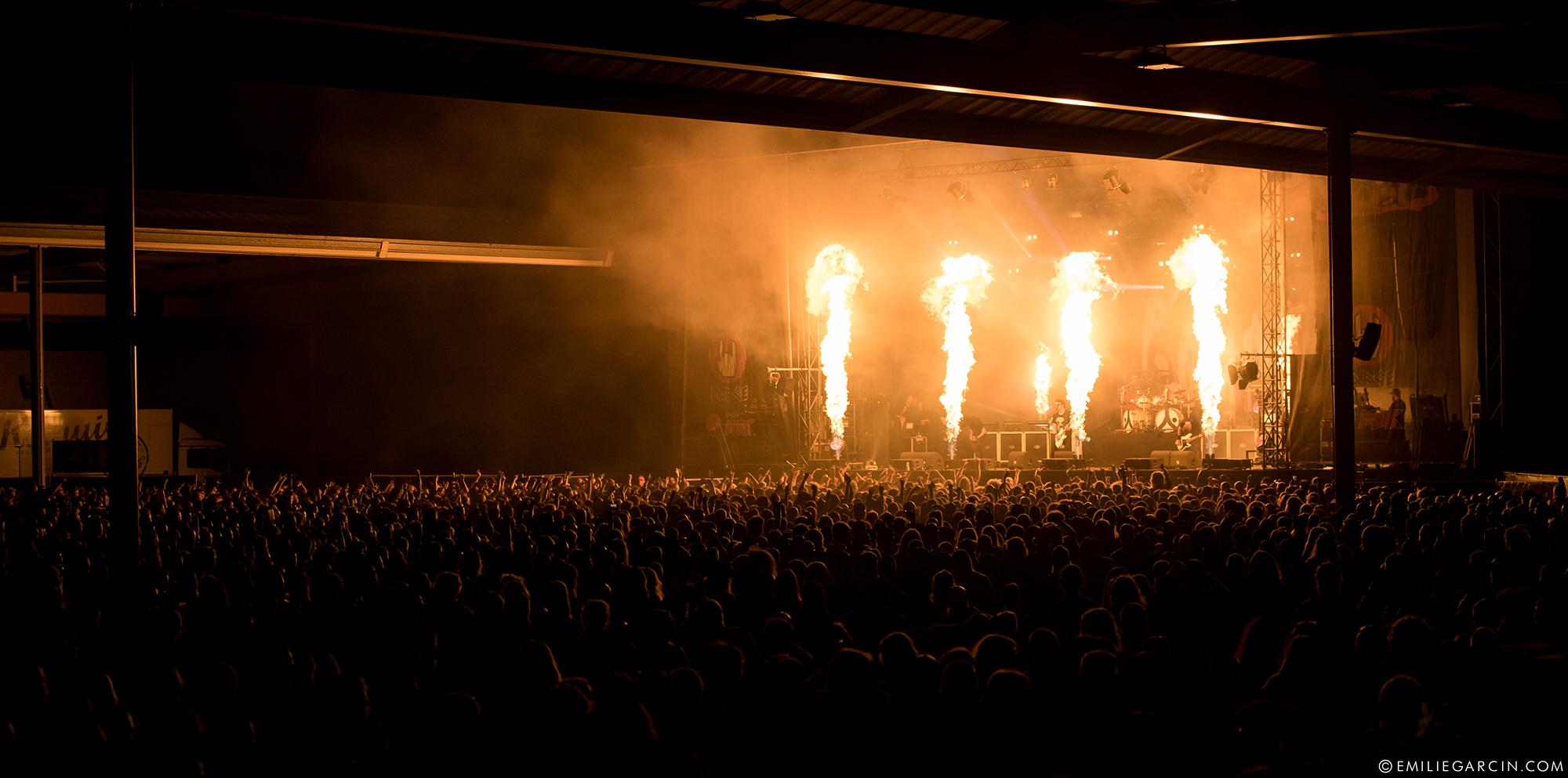 Gojira au dynamo metal fest 2017