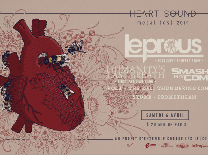 Affiche du Heart Sound Metal Fest 2019