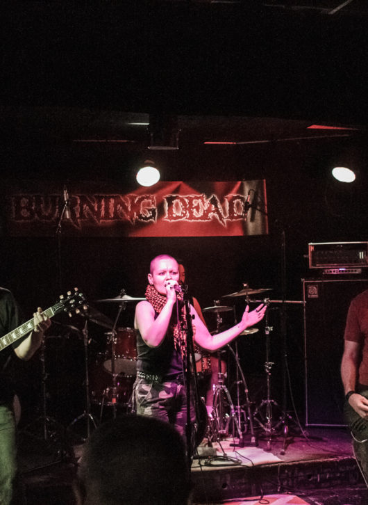 Burning Dead au Studio Campus à Paris en 2019