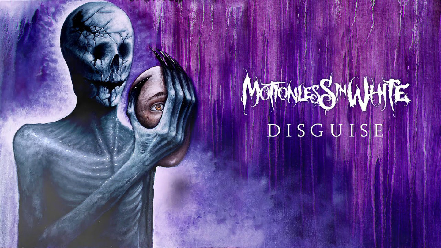 Motionless In White, Disguise album cover.