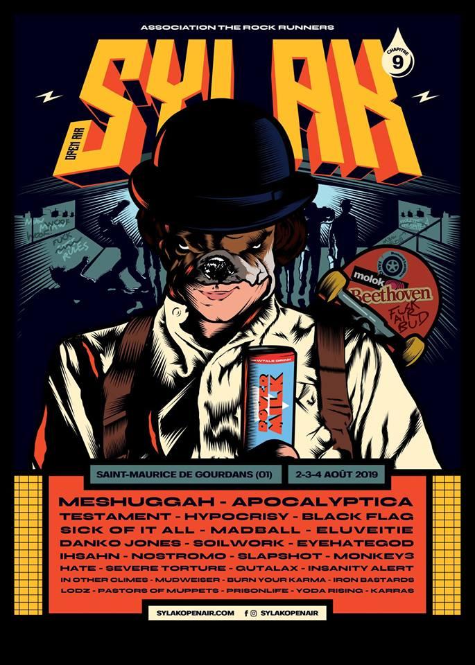 Sylak 2019, affiche complète