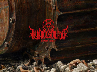 thy art is murder, human target artwork