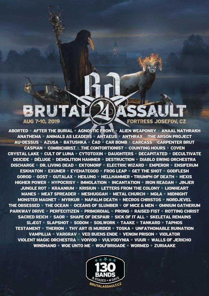 Brutal Assault 2019 affiche